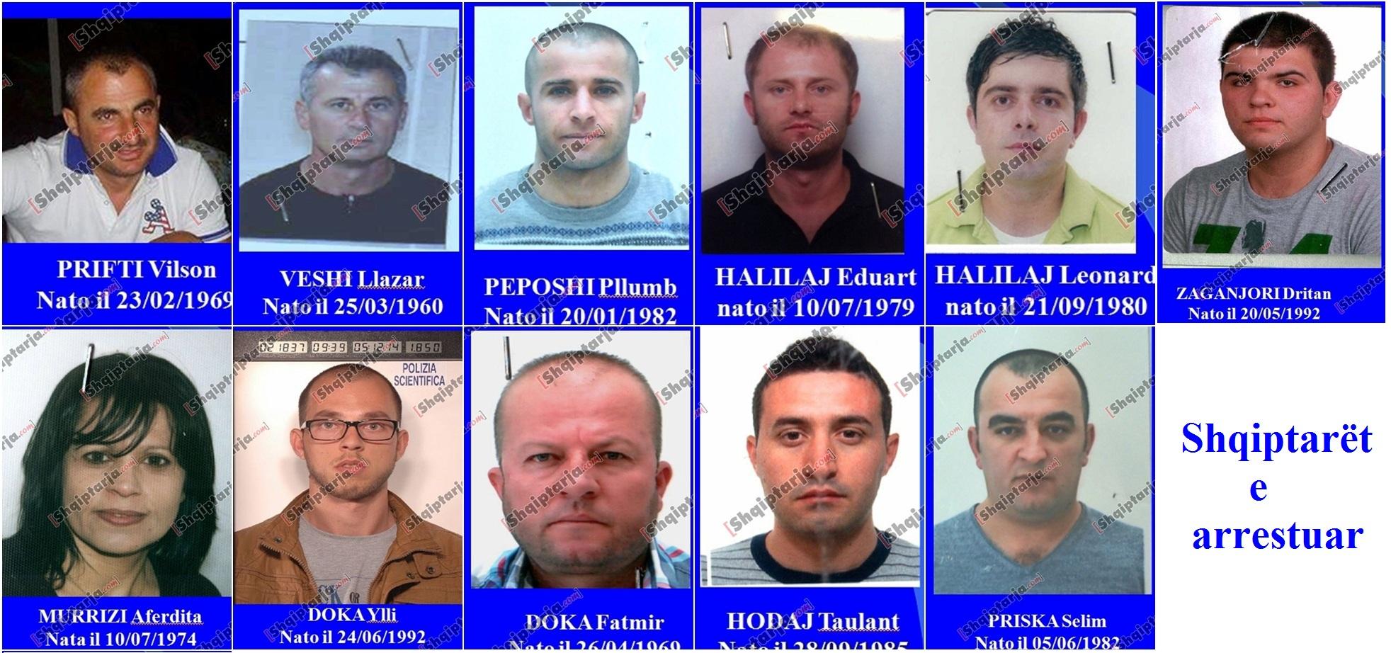 Albanische Drogen Mafia Bari