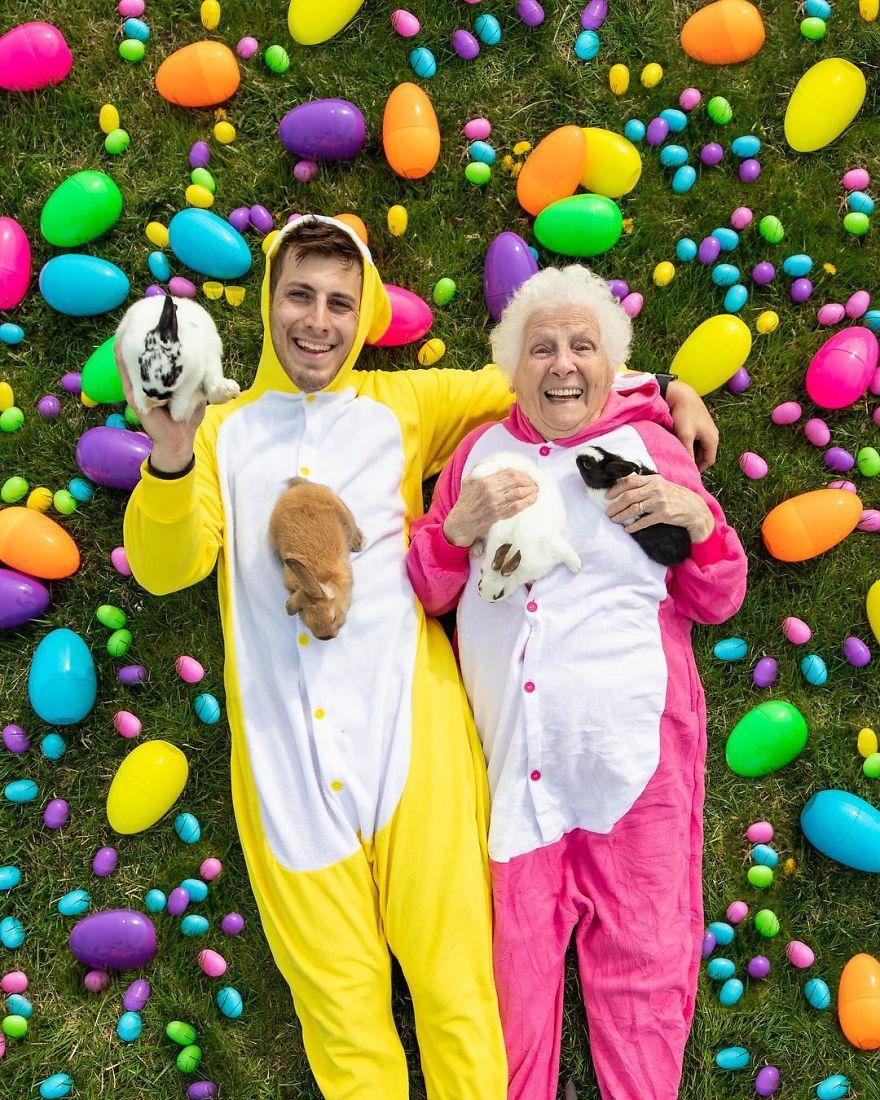 Njihuni me dyshen më të famshme të momentit, nipi dhe gjyshja 93-vjeçare thyejnë rekordet (FOTO) - Shqiptarja.com