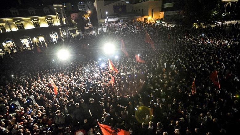 Image result for Vetëvendosja fiton zgjedhjet festimi