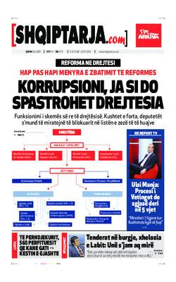 Korrupsioni Ja Si Do Spastrohet Drejtesia